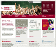 Bendigo and Adelaide Bank Limited Website Link