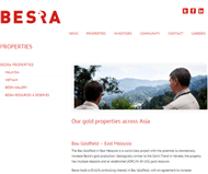 Besra Gold Inc Website Link