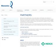 Bionomics Limited Website Link