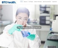 BTC Health Ltd Website Link
