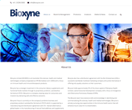 Bioxyne Limited Website Link
