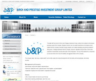 Birch and Prestige Investment Group Limited Website Link