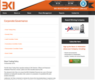BKI Investment Company Limited Website Link