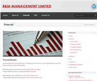 BKM Management Limited Website Link