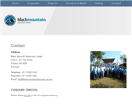 Black Mountain Resources Limited Website Link