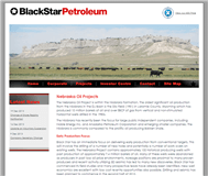 Black Star Petroleum Limited Website Link