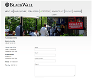 BlackWall Limited Website Link