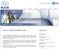Blaze International Limited Website Link