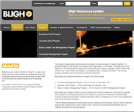 Bligh Resources Limited Website Link
