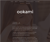 Ookami Limited Website Link