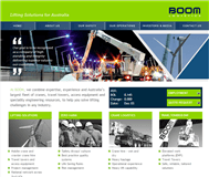 Boom Logistics Limited Website Link