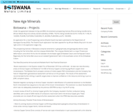 Botswana Metals Limited Website Link