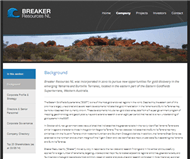 Breaker Resources NL Website Link