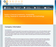 Broad Investments Limited Website Link