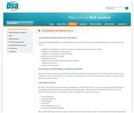 BSA Limited Website Link