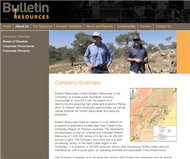 Bulletin Resources Limited Website Link