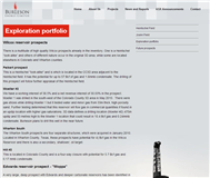Burleson Energy Limited Website Link