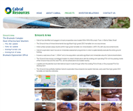 Cabral Resources Limited Website Link