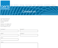 Aeris Environmental Ltd Website Link
