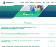 Polynovo Limited Website Link