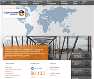 Cape Lambert Resources Limited Website Link