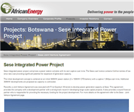 African Energy Resources Limited Website Link