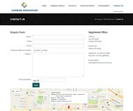 Carbine Resources Limited Website Link