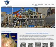 Carbine Tungsten Limited Website Link