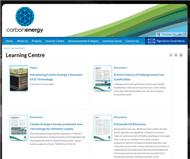 Carbon Energy Limited Website Link