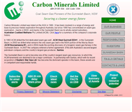 Carbon Minerals Limited Website Link