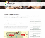 Cardinal Resources Limited Website Link