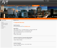 AFT Corporation Limited Website Link