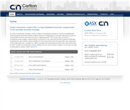 Carlton Investments Limited Website Link