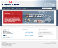 Carnarvon Petroleum Limited Website Link