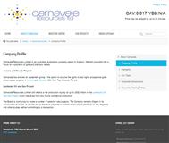 Carnavale Resources Limited Website Link
