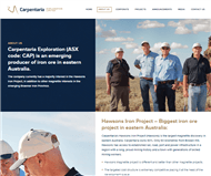 Carpentaria Resources Ltd Website Link