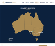 Carpentaria Exploration Limited Website Link