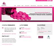 Agenix Limited Website Link
