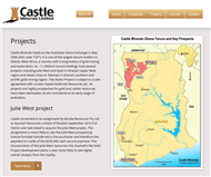 Castle Minerals Ltd Website Link