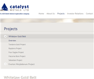 Catalyst Metals Limited Website Link