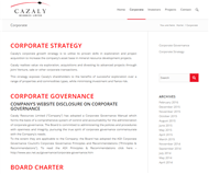 Cazaly Resources Limited Website Link