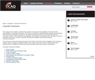 CAQ Holdings Limited Website Link