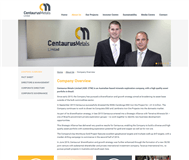 Centaurus Metals Limited Website Link