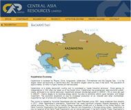 Central Asia Resources Limited Website Link