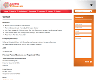Central Petroleum Limited Website Link