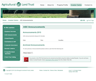 Agricultural Land Trust Website Link