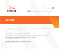Chalice Gold Mines Limited Website Link