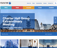 Charter Hall Group Website Link