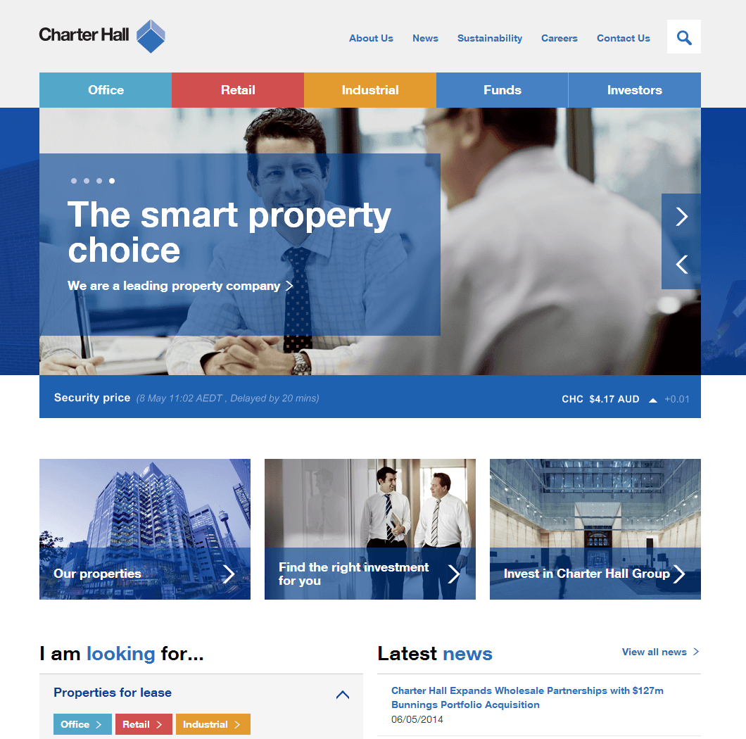 Charter Hall Retail Reit Website Link