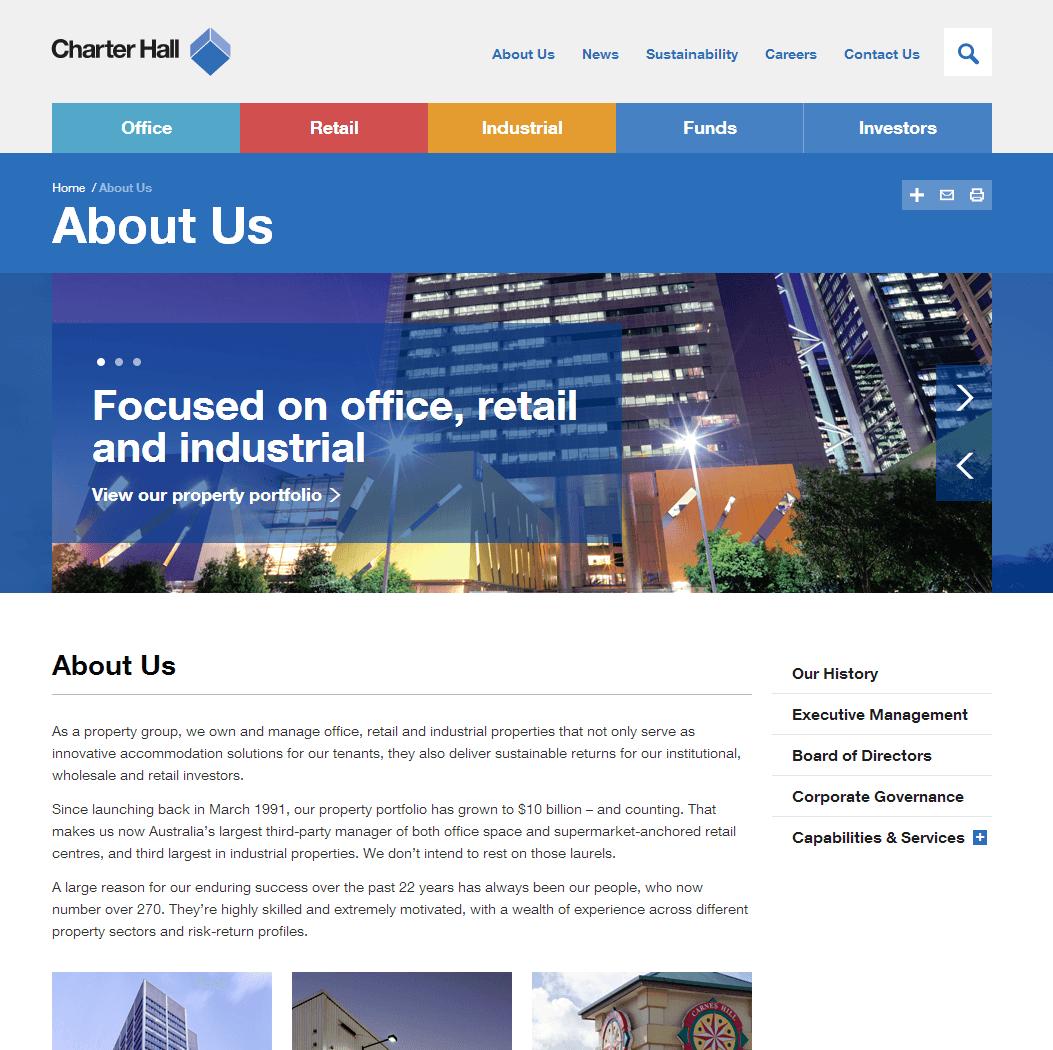 Charter Hall Retail Reit Website Link
